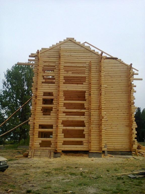 Заказать Строительство домов из бруса Украина