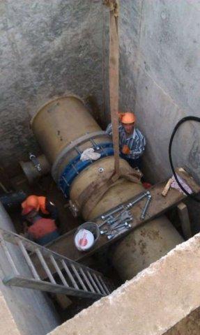 Работы по ремонту трубопровода Одесса область