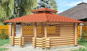Заказать Строительство деревянных беседок