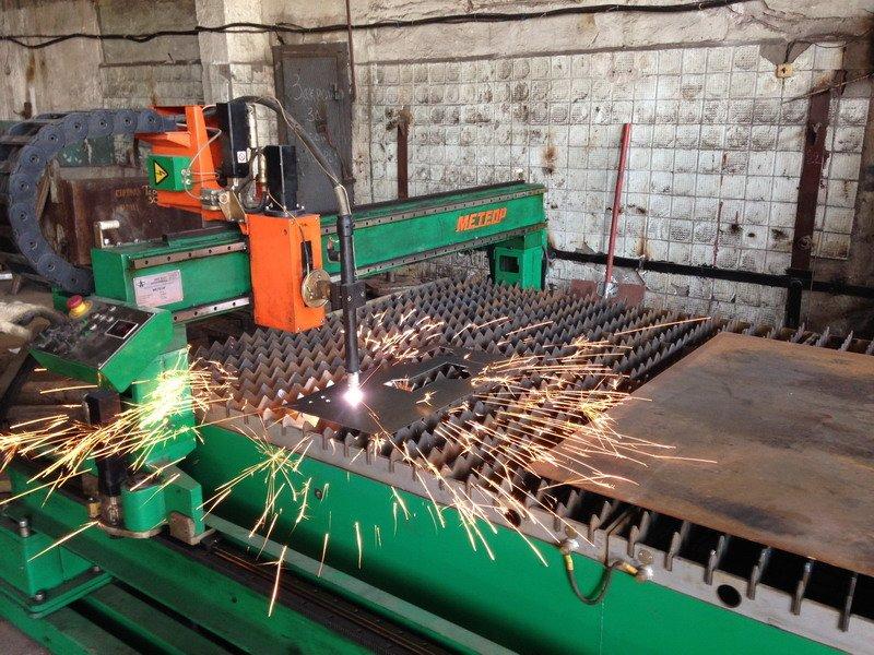 Order Plasma cutting of metal rolling