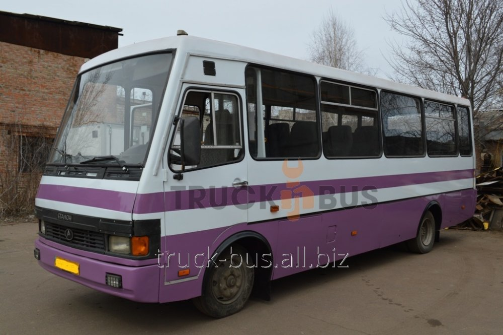 Покраска автобуса Эталон
