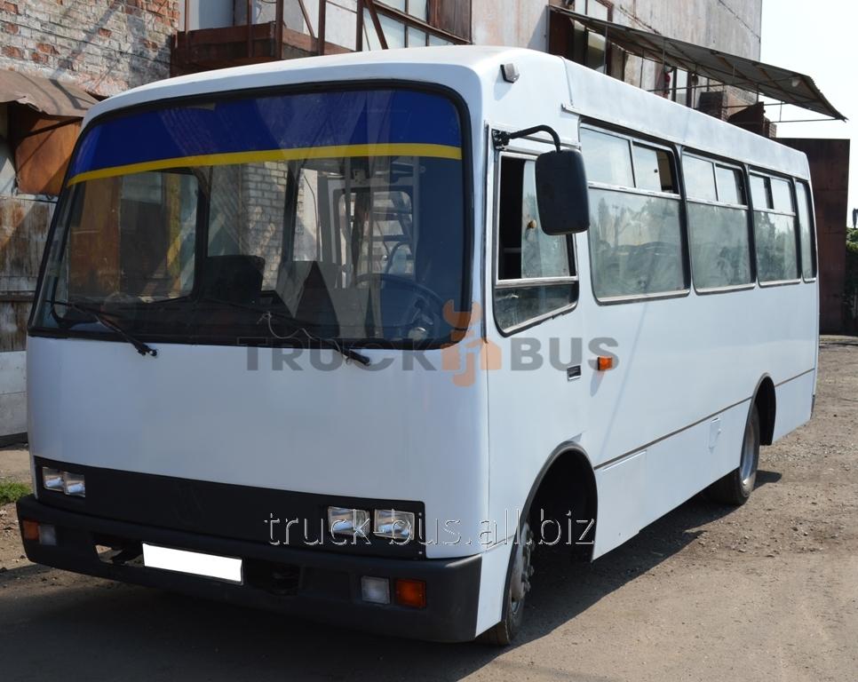 Покраска автобусов Богдан
