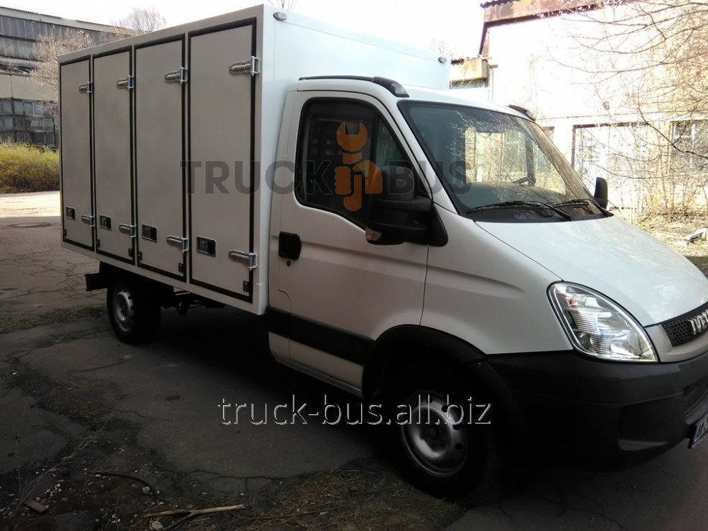 Production and installation of grain bodies vans