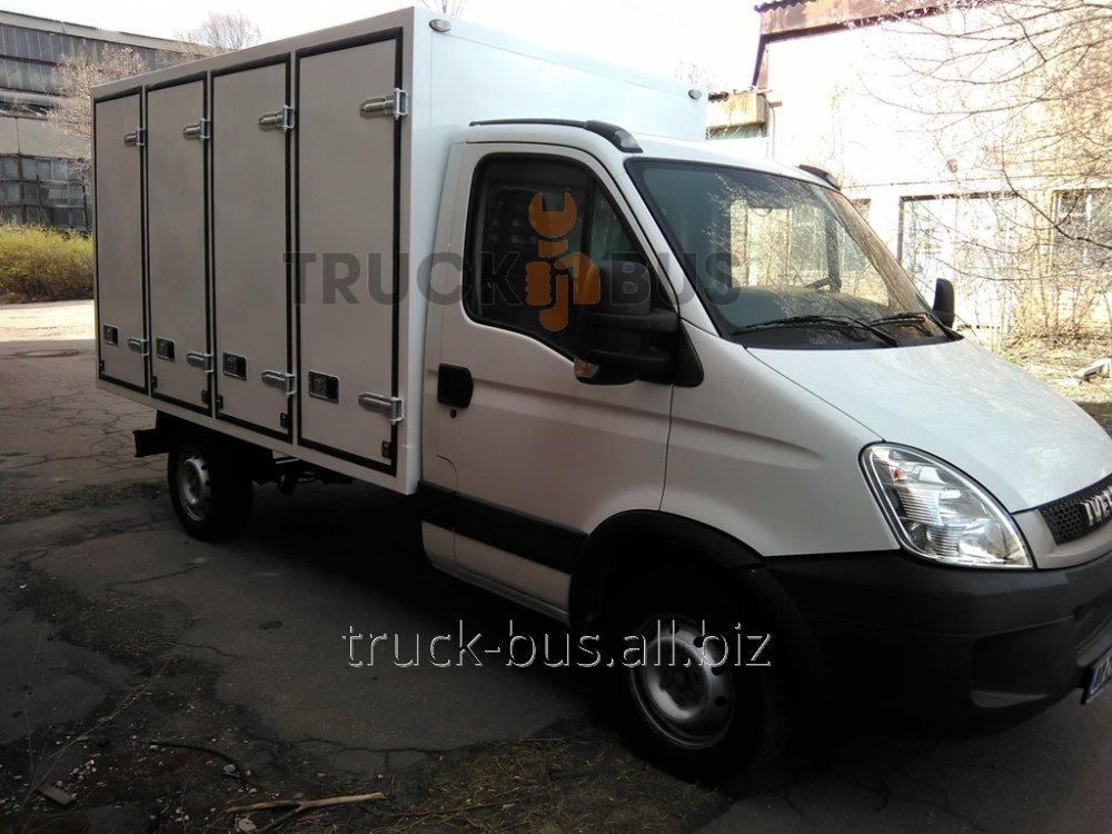 Изготовление и установка хлебных кузовов-фургонов