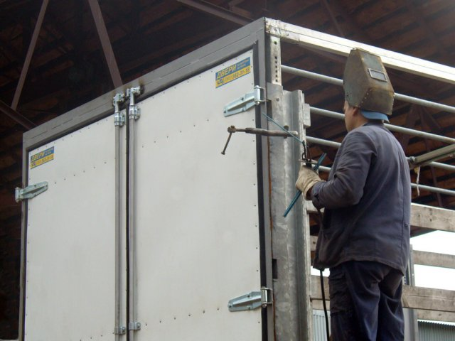 Order Repair of bodies vans