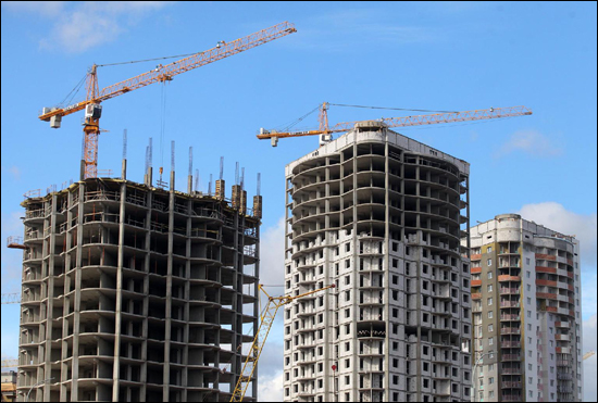 Заказать Строительство многоэтажных зданий