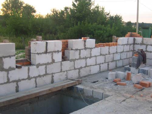 Заказать Устройство внешних стен со всех видов строительных материалов