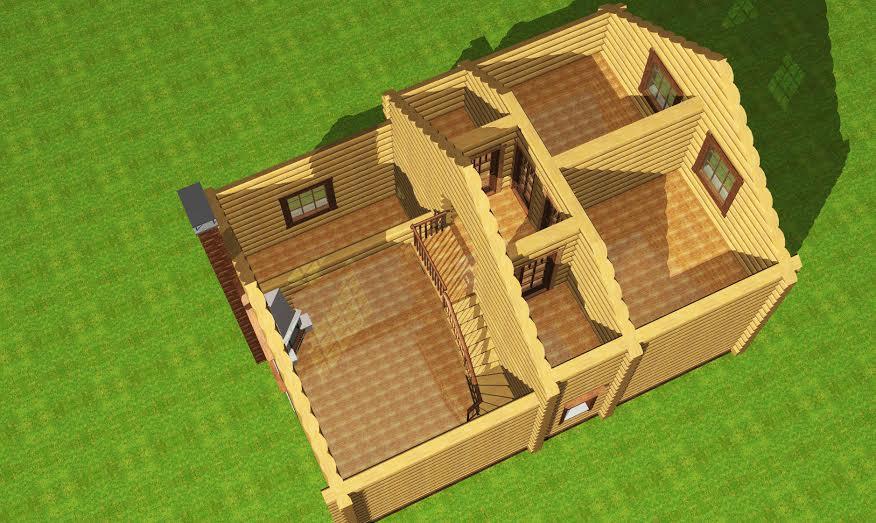 Заказать Будівницвто будинків із дерева у Вінниці