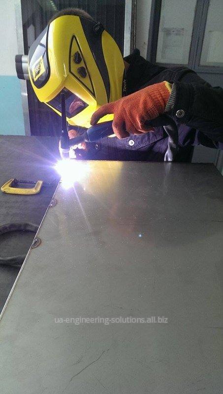 Заказать Изготовление и ремонт сварных конструкций, аргоно - дуговая сварка алюминия, нержавеющей стали, титана, алюцинка