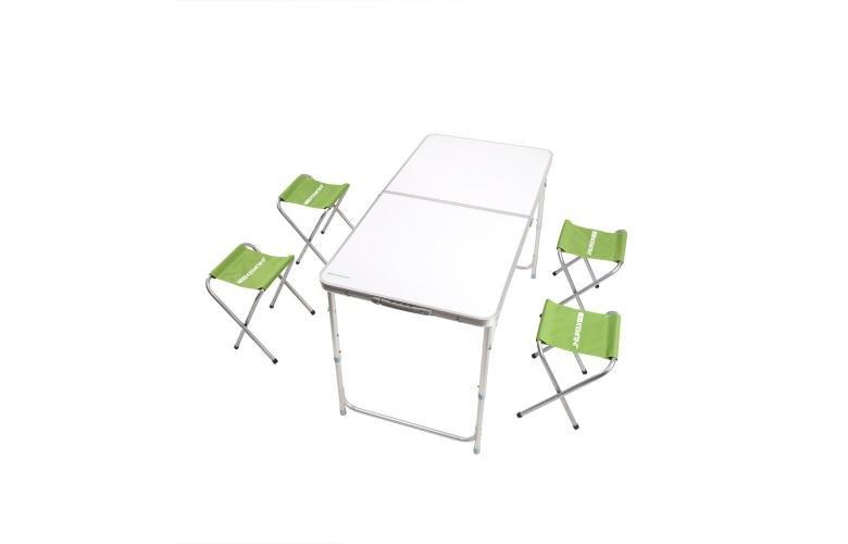 Заказать Прокат стіл складний туристичний + 4 стільці