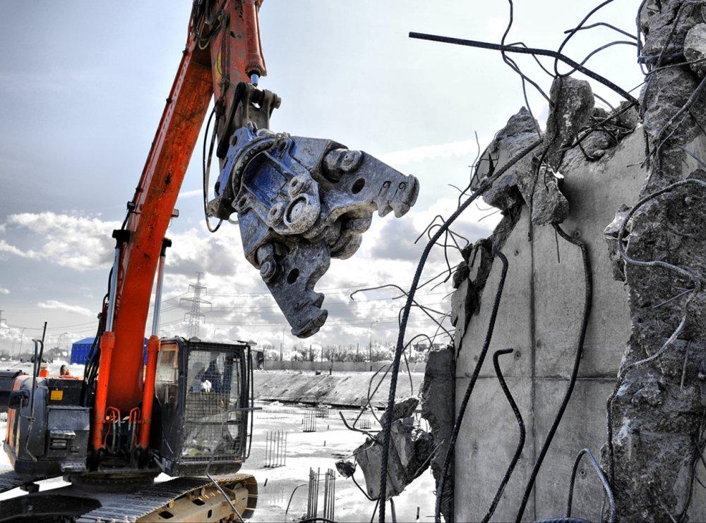 Заказать Снос, демонтаж зданий