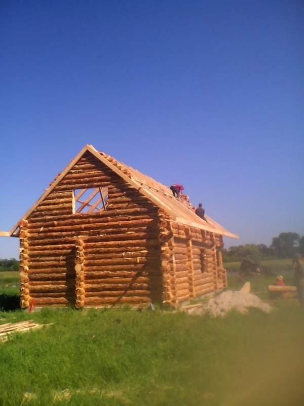 Заказать Дома из дерева ручной рубки Полтава