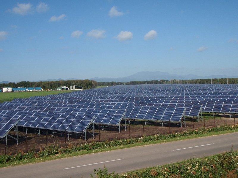 Заказать Будівництво наземних сонячних елнктростанцій