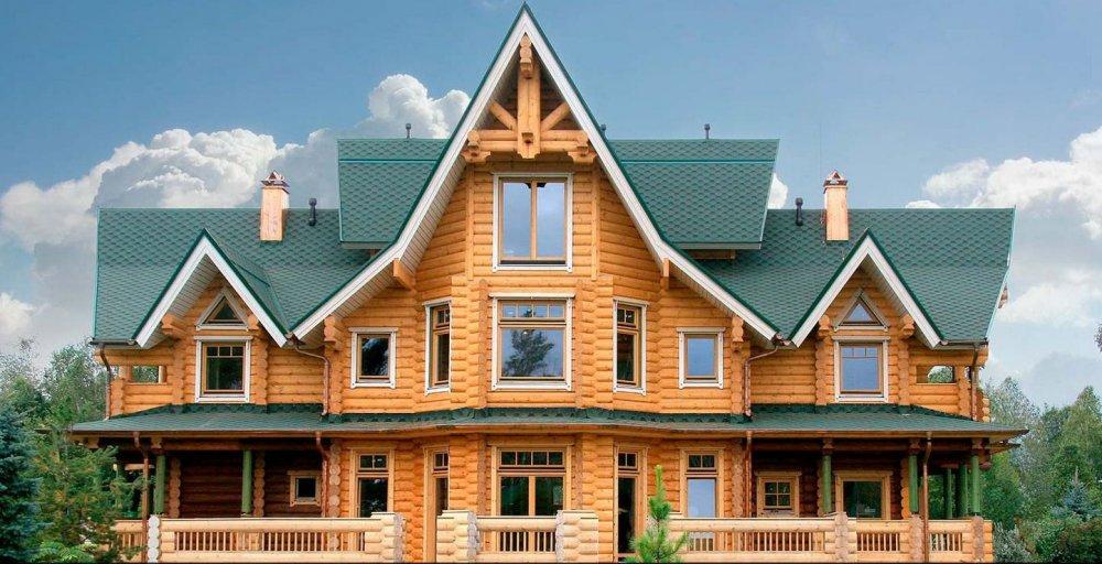 Заказать Дома из сруба Украина