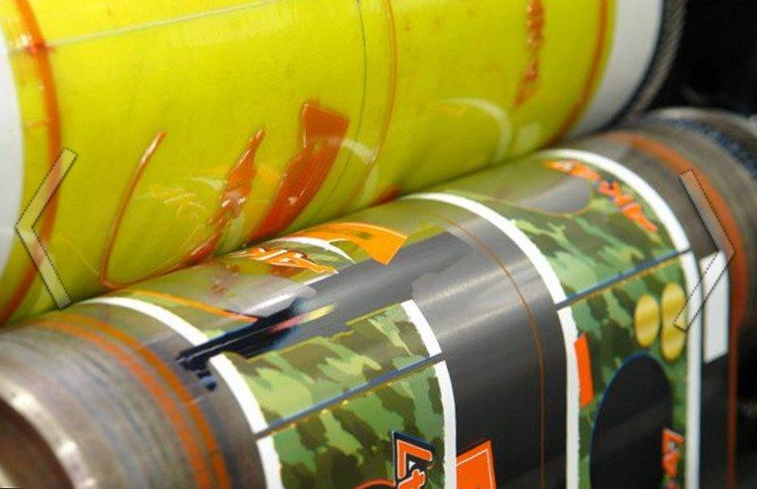 Заказать Ротационная печать с рулонной подачей