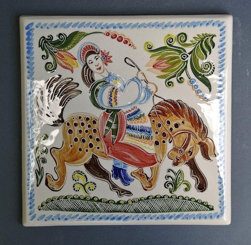 Заказать Ручная роспись на плитках, изразцах, сувенирах
