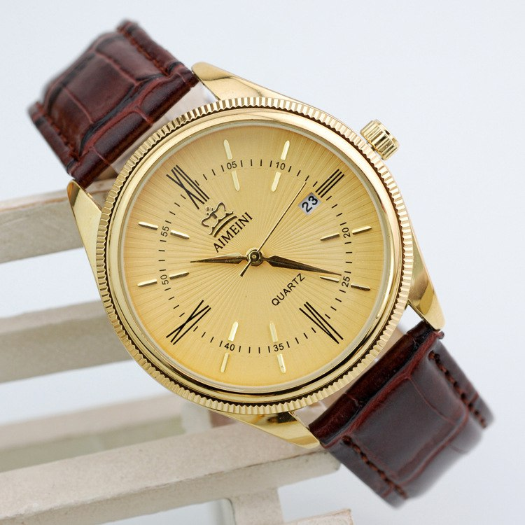 Order Gilding of a watch