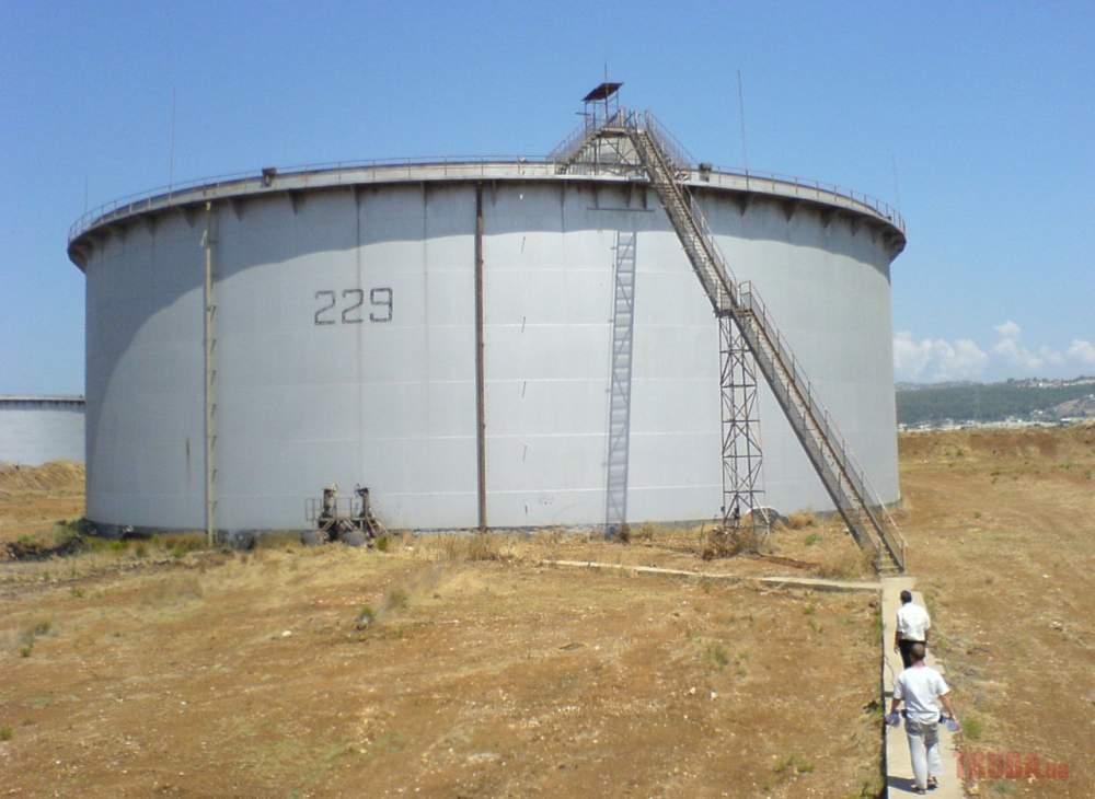Заказать Зачистка резервуаров от отходов нефтепродуктов