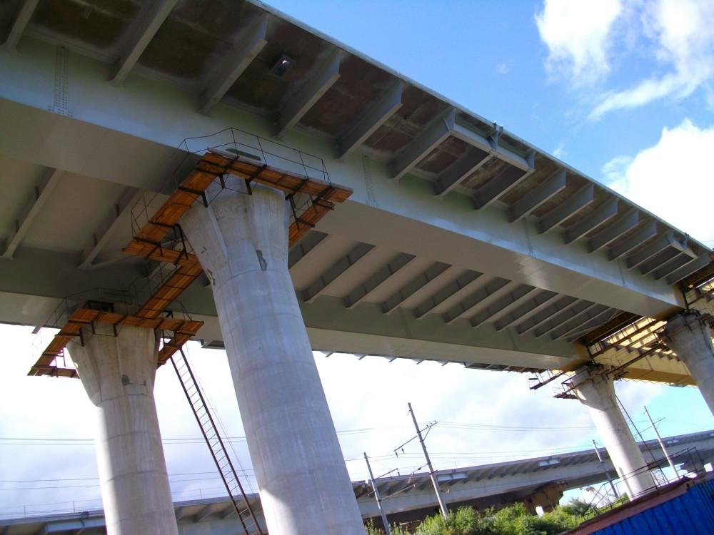 Покраска мостов