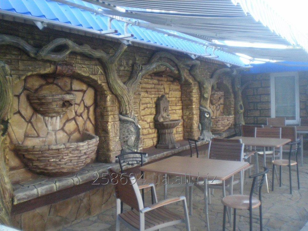 Заказать Декоративное оформление кафе, баров, ресторанов
