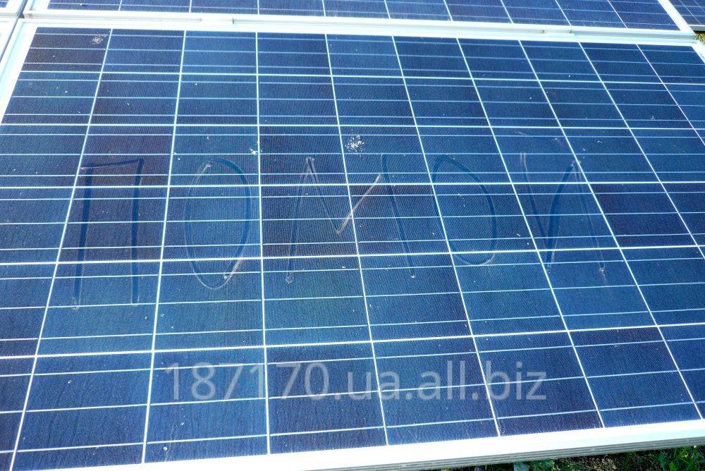 Заказать Мойка солнечных батарей