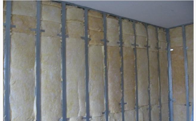 Заказать Утепление стен внутри помещения минеральной ватой