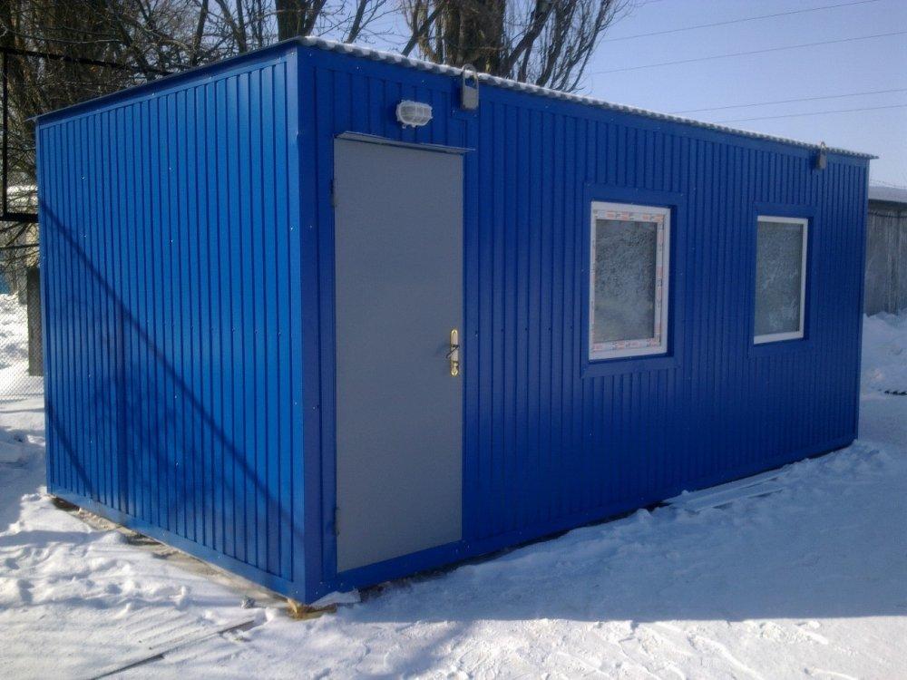 Заказать Аренда строительных бытовок (вагончиков) в Киеве