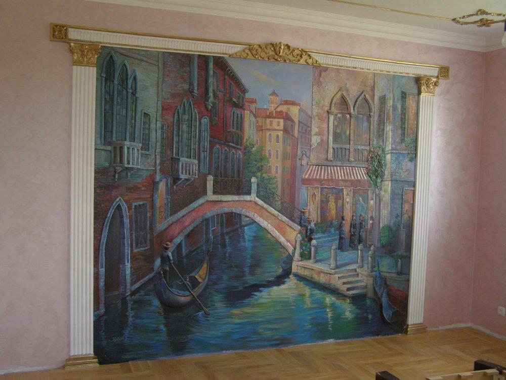 Заказать Художественная роспись стен и потолков