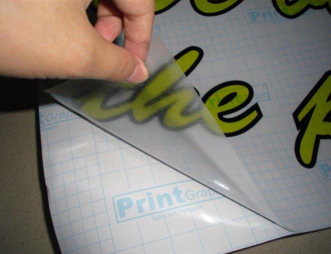 Заказать Широкоформатная печать на прозрачной пленке с водостойким покрытием