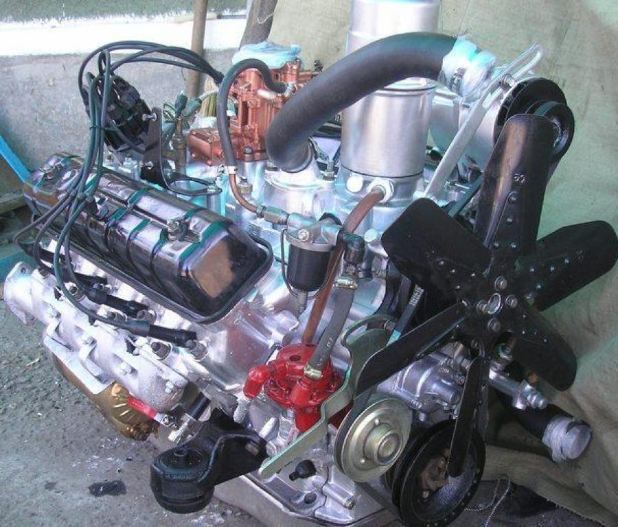 Заказать Ремонт отечественных двигателей ГАЗ-53