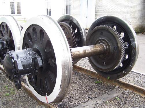 Заказать Ремонт колесных пар с буксами тягового агрегата