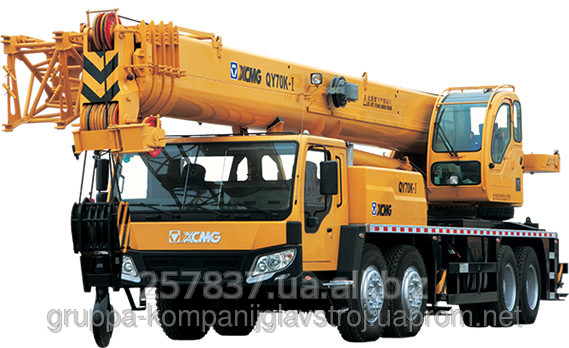 Order Rent of the truck crane of 70 tons