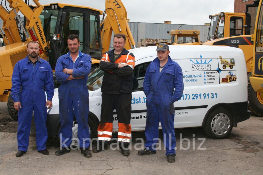 Заказать Сервисное обслуживание дорожно-строительных машин