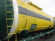 Капитальный ремонт вагонов-цистерн модели 15-1547