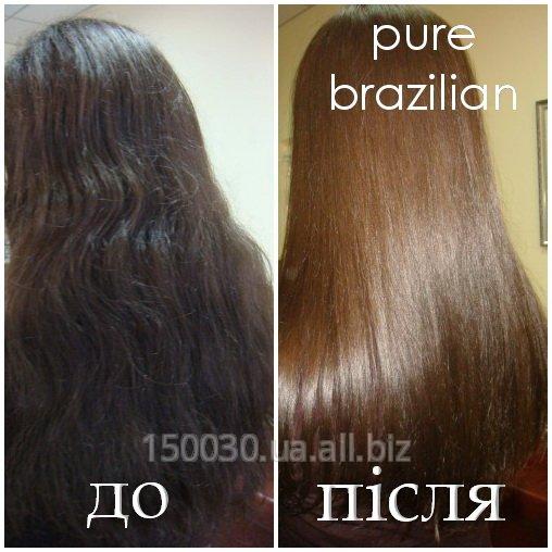 Заказать Кератиновое восстанавление и выпрямление волос Pure Brazilian в Львове