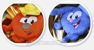 Заказать Производство Корпоративных игрушек: Игрушки с логотипом, Подушки с сублимацией