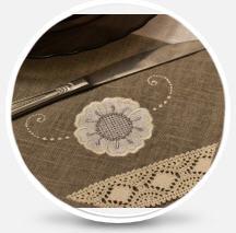 Заказать Индивидуальный пошив текстильных изделий для дома (скатерти, салфетки, постельное белье, кухонные комплекты); Текстильная сувенирная продукция с использованием вышивки и печати