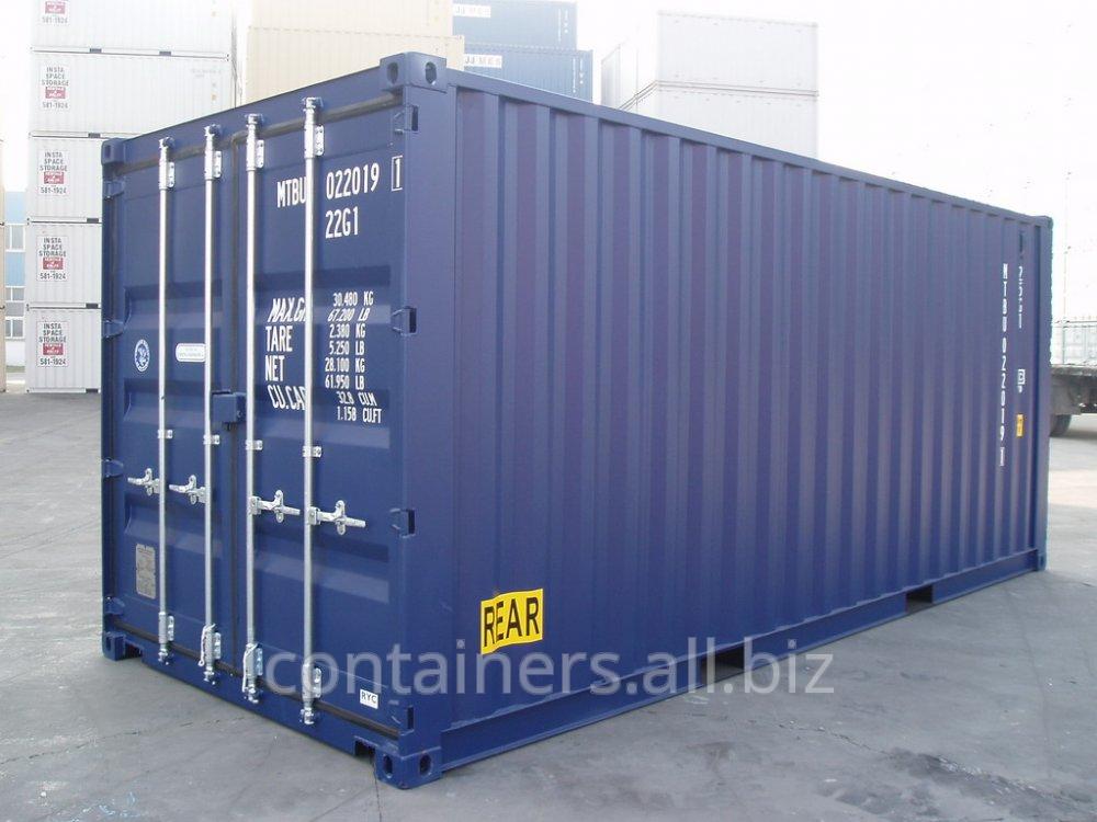 Лизинг морских контейнеров