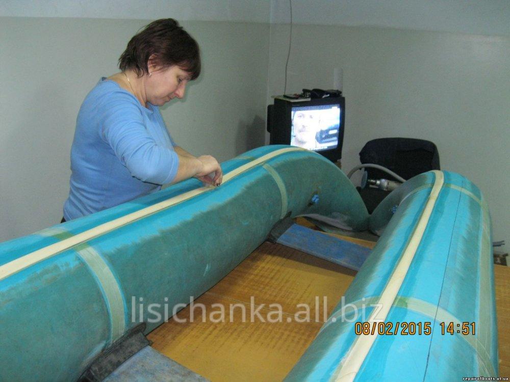 Ремонт надувных резиновых лодок