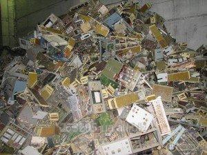 Заказать Утилизация средств связи, АТС, оргтехники