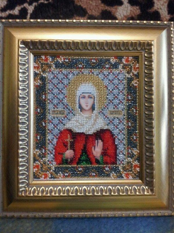 """Заказать Вышивка бисером икон (""""Икона святой мученицы Наталии"""")"""