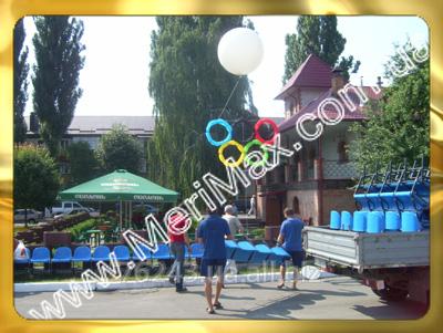 Заказать Оформление воздушными шарами спортивных мероприятий