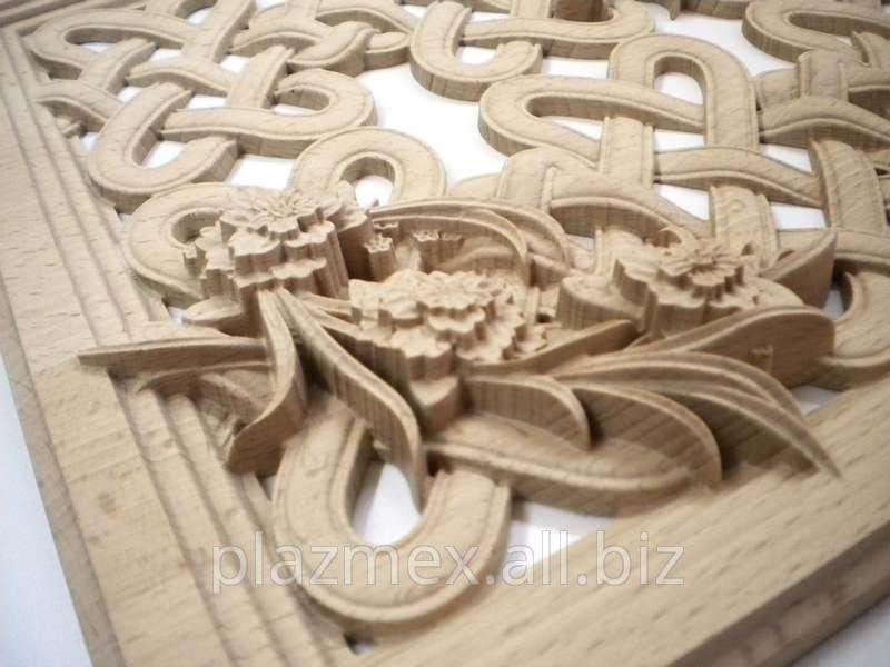 Заказать Фрезерная гравировка и 3D фрезеровка