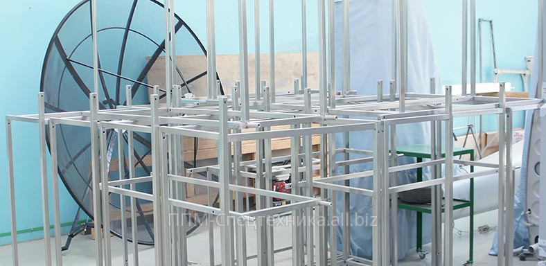 Заказать Производство металлоконструкции по индивидуальному заказу