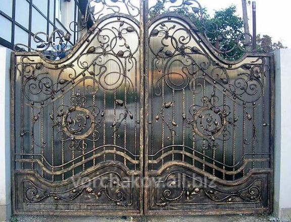 Заказать Ковка ворот под заказ Николаев, Одесса и Киев с доставкой