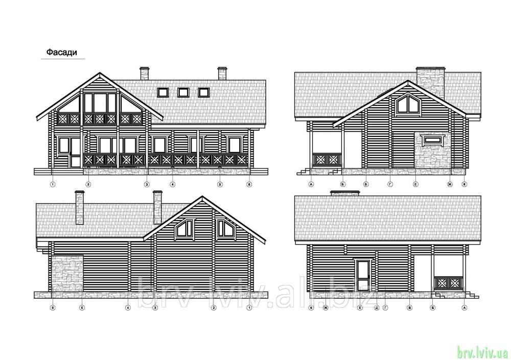 Заказать Дача, деревянные дома, разробка проектов на дачные дома, архитектурные проекты