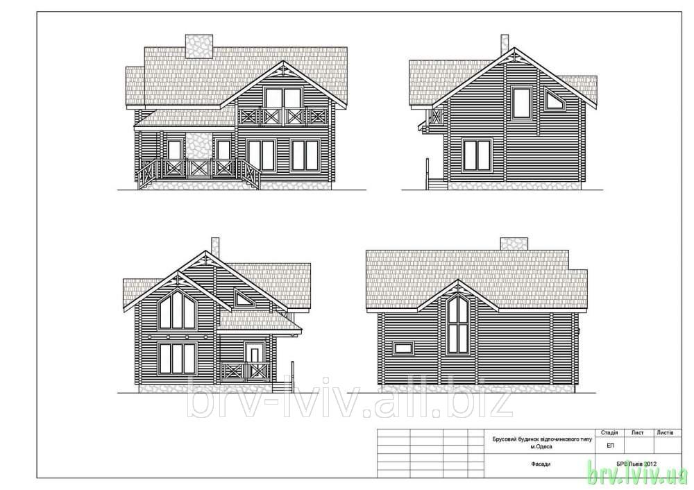 Заказать Коттеджи, особняки, чертежи и планировка строительства элитных домов из деревянного бруса