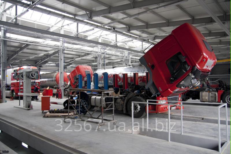 Заказать Услуги по ремонту тормозной системы грузового автомобиля