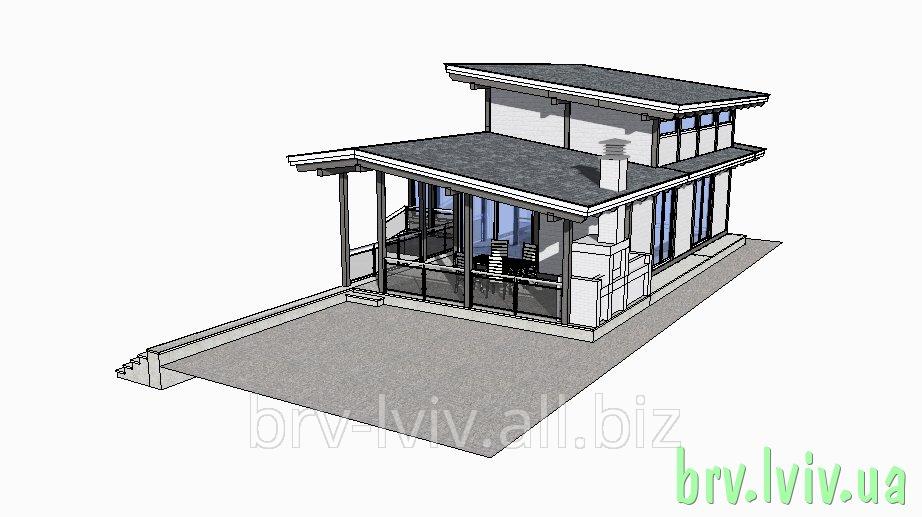 Заказать Загородные дома, дачи, деревянные дома строительство и проектирование, чертежи Львов