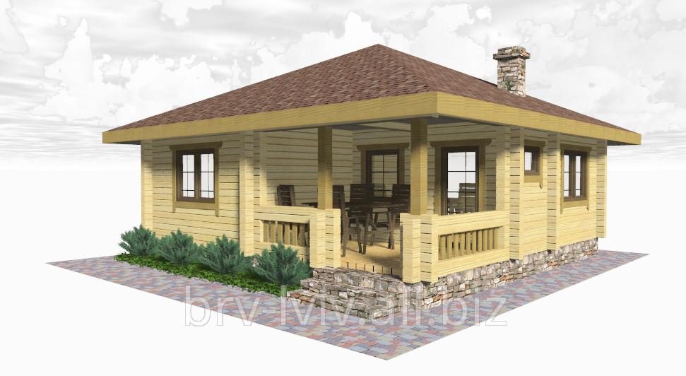 Заказать Дачные дома от производителя из дерева, строительство, проетктирование